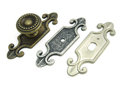 Decorative Back Plate for Cabinet Knobs Cupboard Handle Drawer Pulls - BP004