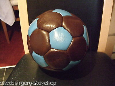 Vintage Early 1980's Aston Villa Signed Football Never Used Or Blown Up Vgcc