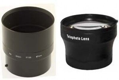 TelePhoto Lens + Tube Adapter bundle for Kodak EasyShare Z990 Digital Camera