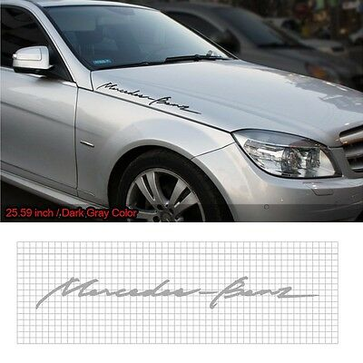 "Detailpart Cursive Lettering Sticker 25.59"" Car Decal for Mercedes-Benz & AMG"