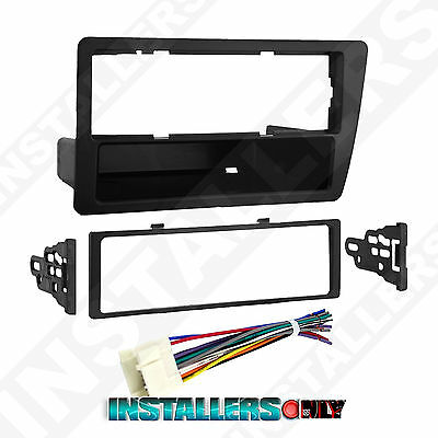 HONDA CIVIC CAR STEREO SINGLE/ISO-DIN RADIO INSTALL DASH KIT W/ WIRES 99-7899