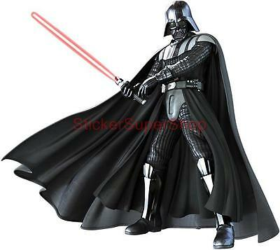 Darth Vader Star Wars Decal Removable  Wall Sticker Home Decor Art *3 Sizes* H43