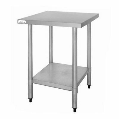 Bench with Undershelf 600x600x900mm Stainless Steel