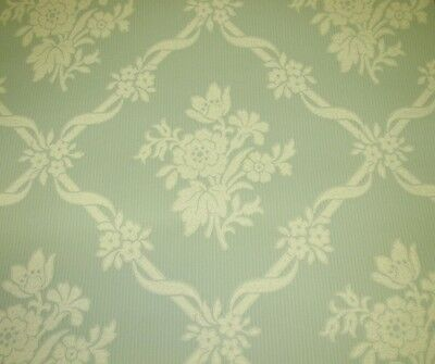 COLE AND SON GREEN 'CANTERBURY TRELLIS' WALLPAPER -$50 PER 11 YD ROLL