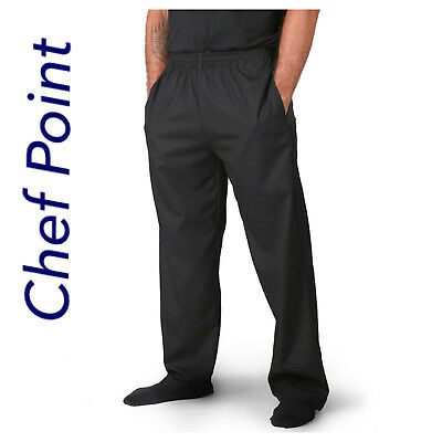 Chef 'Lightweight' Drawstring Pants, Black Or Check Pattern, Breathable Pockets!