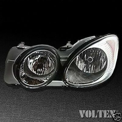 2005-2007 Buick LaCrosse Headlight Lamp Clear lens Halogen Driver Left Side
