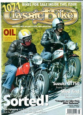 Classic Bike Magazine - August 2004