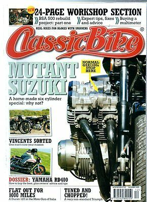 Classic Bike Magazine - December 2005