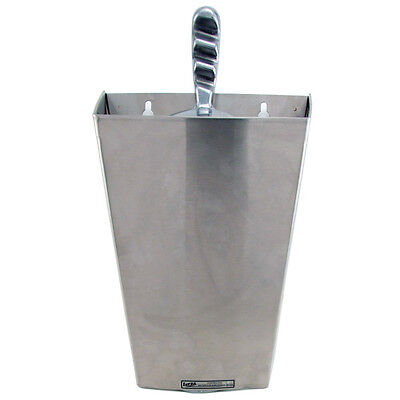 Ice Scoop Holder - 12 oz Capacity - Bar & Pub Gadgets & Tools - Stainless Steel