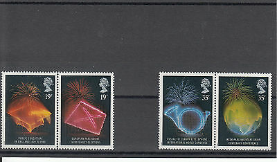 GB 1989 MNH Anniversaries #1432-5 Elections Public Education Telegraph Stamps