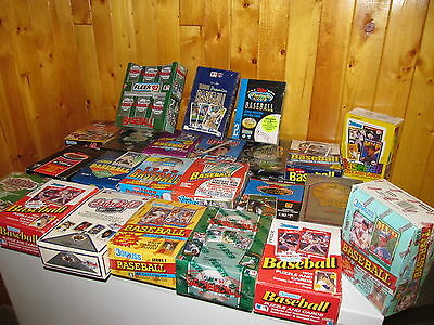 100 Old Unopened Baseball Cards In Packs!!! Free Shipping
