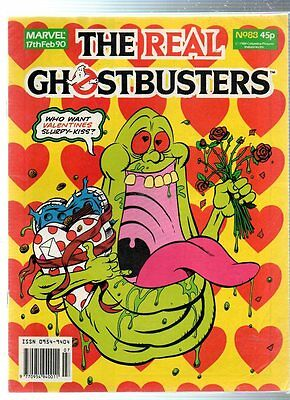 Marvel The Real GHOSTBUSTERS Comic - 17 February 1990, No.88