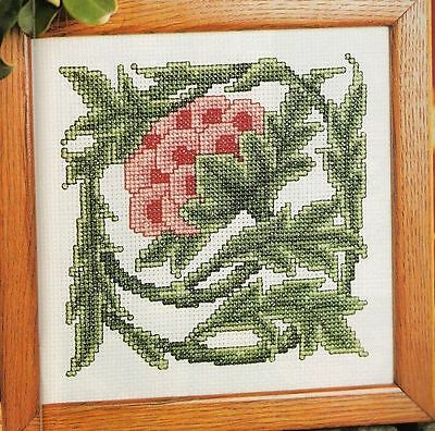 Rose Tile Cross Stitch Chart