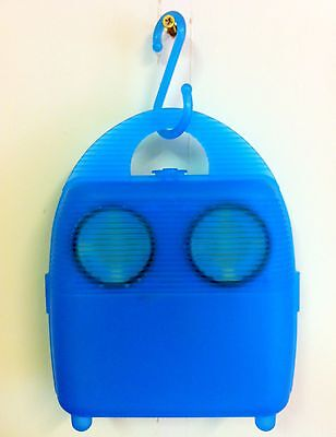 Waterresistant Cover Go Anywhere Music Box 4 Walkman Cd Player Md Ipod Or Radio