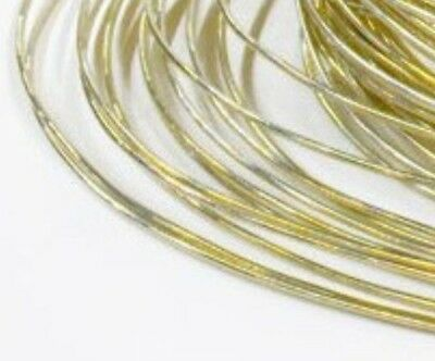 9ct Gold Solder Wire Jewellers Repairs 100mm - Easy Medium Hard - Hallmarkable