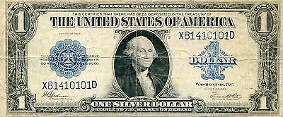 1923 UNITED STATES ONE DOLLAR SILVER CERTIFICATE G  (NICE)