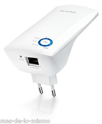Repetidor Universal Inalambrico TP-Link TL-WA850RE Punto Acceso WiFi N 300Mbps