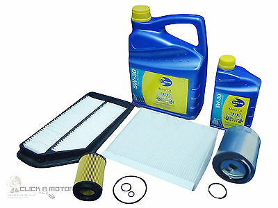 for HONDA CIVIC 2.2 CTDi DIESEL SERVICE KIT OIL AIR FUEL POLLEN FILTER + OIL