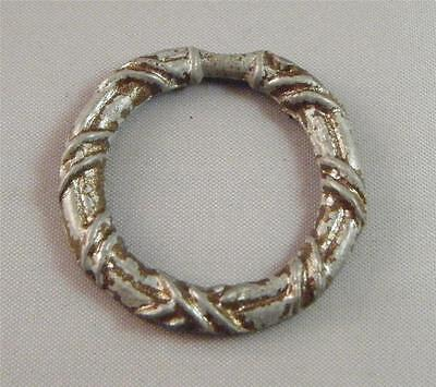 Vintage Antique Wreath Metal Hardware Drawer Cabinet Ring Pull Replacement 1.5""