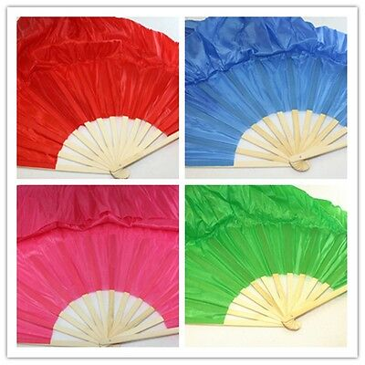 Chinese Japanese Belly Dance folding Fan Extra Large Hand 4 colors 66''