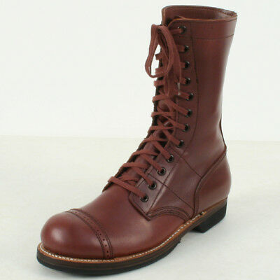 American Paratrooper Jump boots. Russet Brown. New