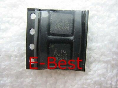 5x New Intersil ISL6247CR ISL 6247CR QFN IC Chip