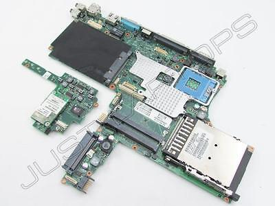 HP Compaq NC6000 Business Laptop Motherboard + Power Button Board Tested Working
