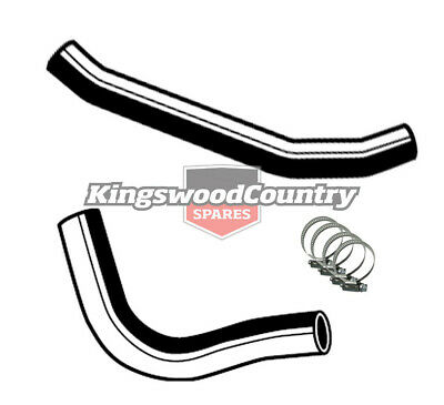 Holden Service Radiator Hose +Clamp Kit HQ V8 350 Chev Monaro