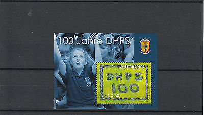 Namibia 2009 MNH Cent DHPS SG#MS1128 1v Sheet Years Deutsche Hohere Privatschule