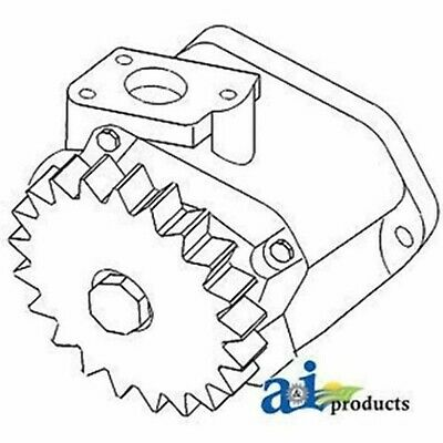 K962635 Hydraulic - Less Relief Valve and Gear Pump Fits Case-IH 380CK 1190 1194