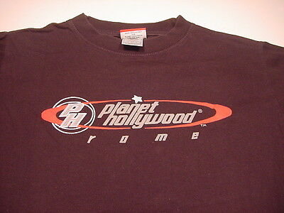 PLANET HOLLYWOOD Rome Italy (SMALL) T-shirt