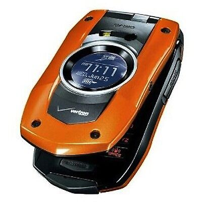 Verizon Casio C711 GzOne Boulder Water Proof Camera Cell Phone