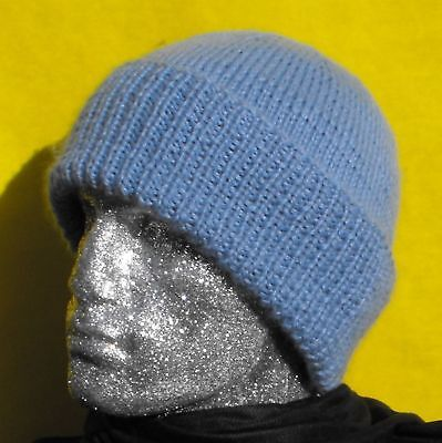 PRINTED INSTRUCTIONS-CHUNKY BEANIE Hat Knitting Pattern -By