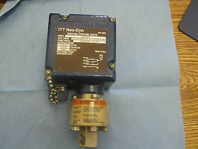 ITT Neo-Dyn: 200P183C Adjustable Press.  Switch.  Incr. Range:1K - 10K  PSIG  <