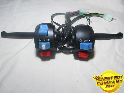 (Right/Left) Brake Lever & Side Control Switch for GY6 Moped Scooter 50cc-125cc
