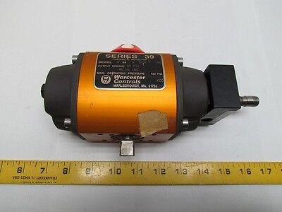 Worcester Controls 10 39 S 120A R6 Pneumatic Valve Actuator 95 in. lbs. @ 80 psi