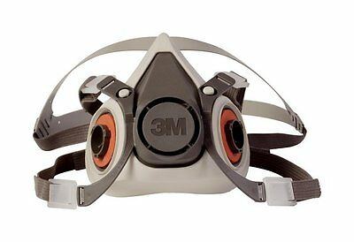 3M 6100 Half Facepiece 6000 Series Reusable Respirator (Small)