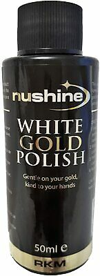 Professional White Gold Polish  - Free Uk Postage
