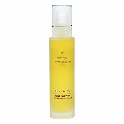 1 PC Aromatherapy Associates Renew Rose Massage Body Oil For Dry Skin 100ml
