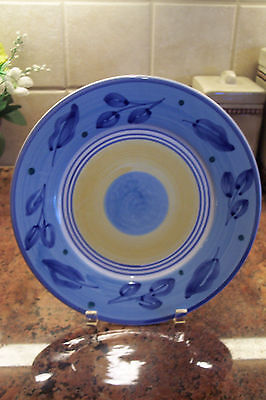 """CALECA ~""""AZZURRO"""" Dinner Plate ~ Excellent Condition"""