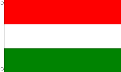 HUNGARY FLAG - NEW 5 x 3 FT - LARGE HUNGARIAN football Euro 2016