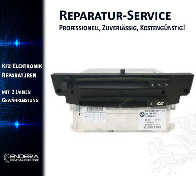 BMW Navi CCC M-ASK E60 E61 Reparatur, Navigation