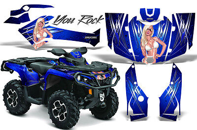 Can-Am Outlander 800 1000 R Xt 12-16 Graphics Kit Creatorx Decals Stickers Yrbl