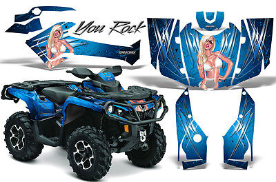 Can-Am Outlander 800 1000 R Xt 12-16 Graphics Kit Creatorx Decals Stickers Yrbli
