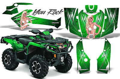 Can-Am Outlander 800 1000 R Xt 12-16 Graphics Kit Creatorx Decals Stickers Yrg
