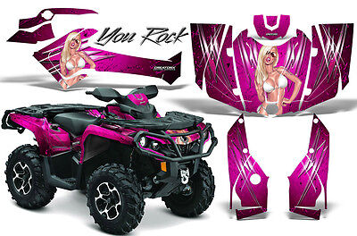 Can-Am Outlander 800 1000 R Xt 12-16 Graphics Kit Creatorx Decals Stickers Yrp