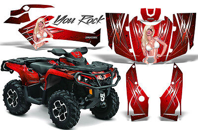 Can-Am Outlander 800 1000 R Xt 12-16 Graphics Kit Creatorx Decals Stickers Yrr