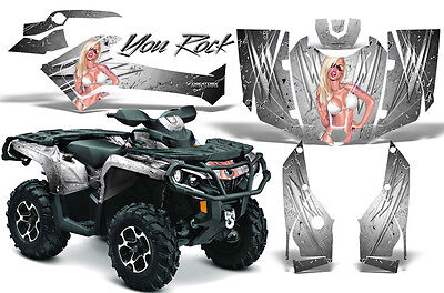 Can-Am Outlander 800 1000 R Xt 12-16 Graphics Kit Creatorx Decals Stickers Yrw