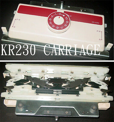 Brother Knitting Machine KR230 Carriage Complete