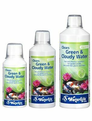 WaterLife Algizin G Pond - Clears Green Cloudy Water Fast Koi Fish Treatment